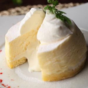 半熟スフレチーズケーキ