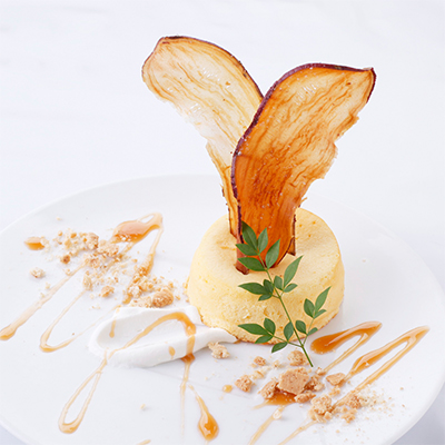 安納芋スフレチーズ