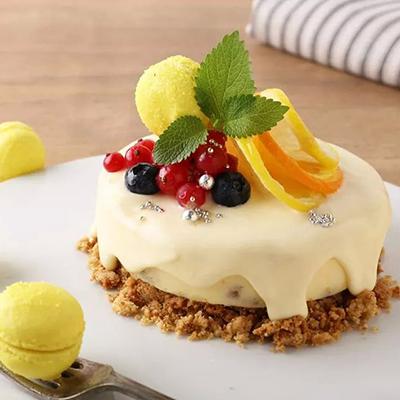 レモンチーズのバースデーケーキ