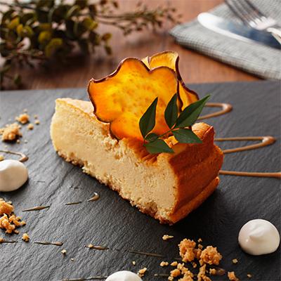 安納芋のスフレチーズケーキ