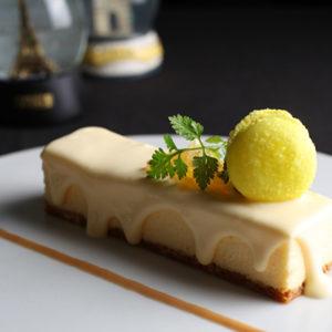 瀬戸内レモンのベイクドチーズケーキ