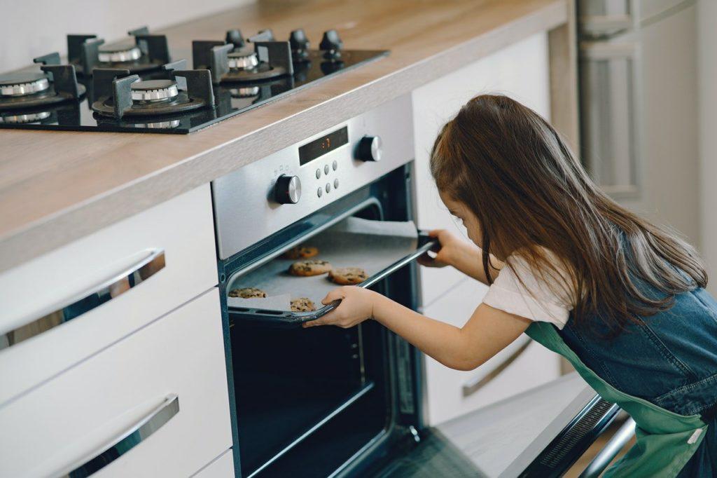 オーブンを除く子供