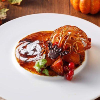 かぼちゃのハロウィンブリュレ