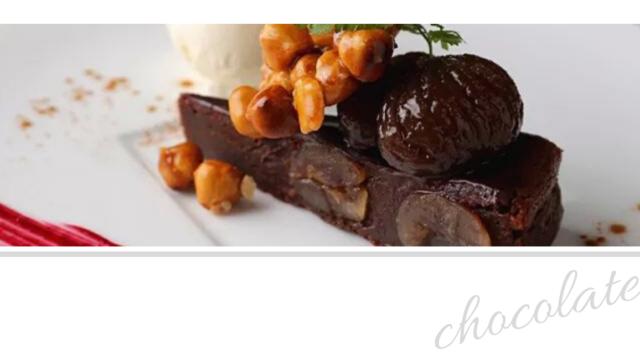 チョコレート系レシピ