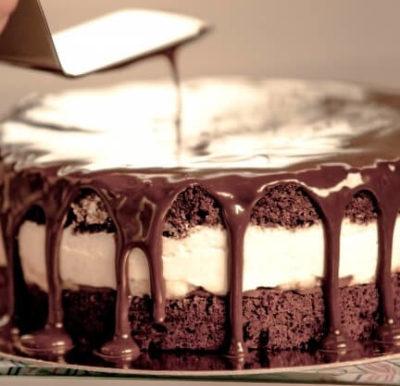チョコレートケーキデコレーション